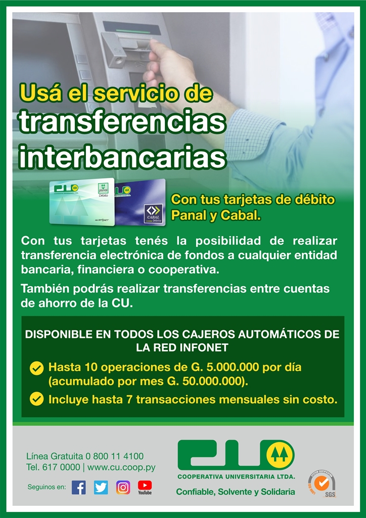 Transferencias interbancarias 29 08 18