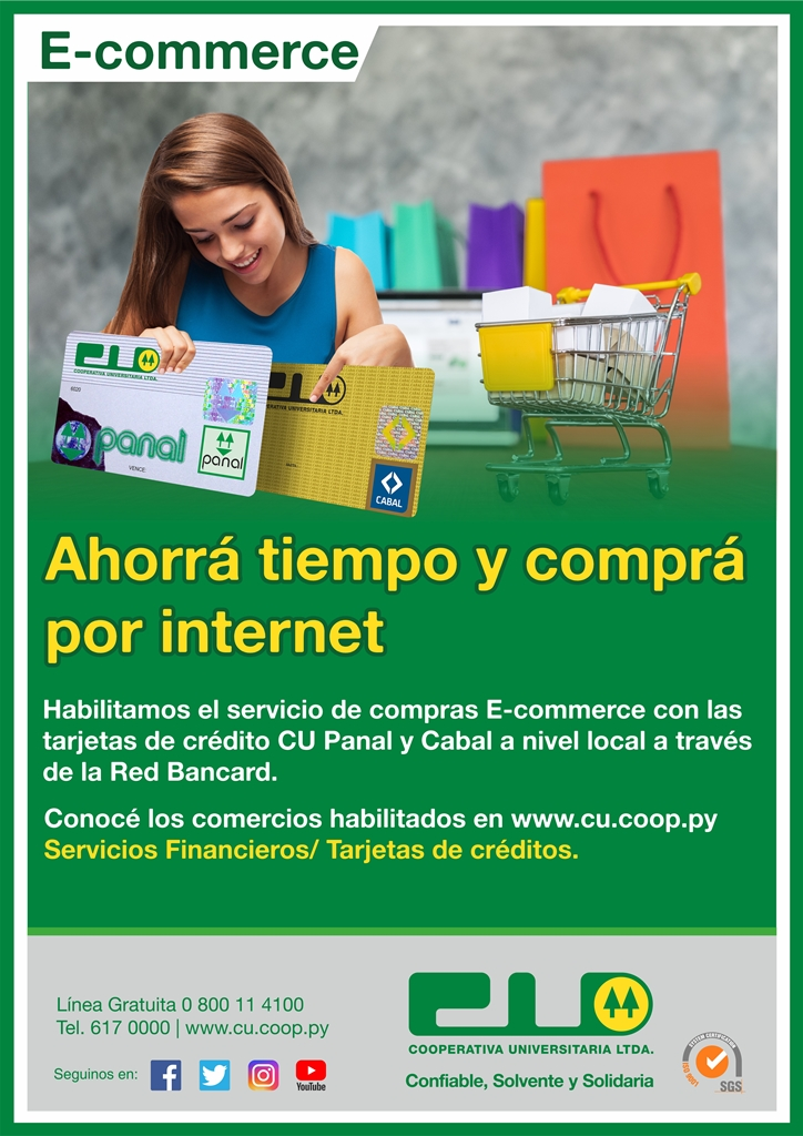 Afiche E commerce act